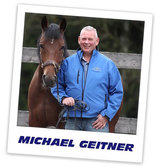 Pferdetrainer Michael Geitner